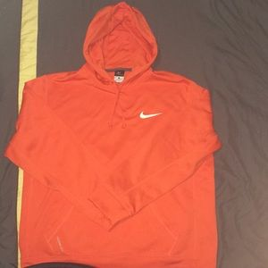 Orange Nike Sweater LARGE